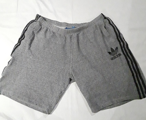 adidas shorts mens grey